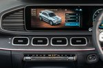 Mercedes GLE 2019 RHD infotainment