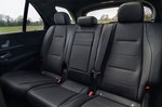 Mercedes GLE 2019 RHD rear seats