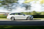 Mercedes-Benz E-Class Estate front right tracking shot