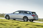 Mercedes-Benz E-Class Estate rear tracking shot