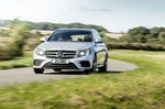 Mercedes-Benz E-Class Estate front right tracking