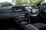 Mercedes-Benz E-Class Estate RHD dashboard