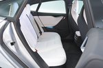 Tesla Model S rear seats