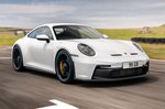Porsche 911 GT3 front three quarters driving