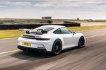 Porsche 911 GT3 2021 rear right tracking