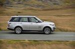 Range Rover 2021 left panning
