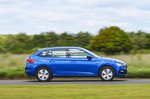Skoda Scala 2021 RHD side panning