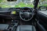 Toyota Hilux 2018 RHD dashboard