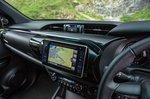 Toyota Hilux 2018 infotainment