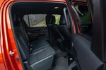Toyota Hilux 2018 RHD rear seats