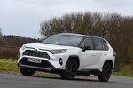 Toyota RAV4 2019 RHD cornering shot