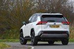 Toyota RAV4 2021 rear tracking shot