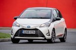 Toyota Yaris 2018 front tracking