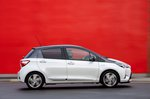 Toyota Yaris 2018 side static Yaris