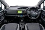 Toyota Yaris 2018 RHD dashboard