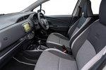 Toyota Yaris 2018 RHD front seats