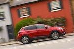Vauxhall Grandland X 2019 exterior tracking shot