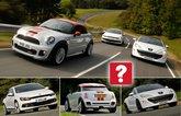 Used VW Scirocco vs Mini Coupe vs Peugeot RCZ
