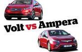 Chevrolet Volt versus Vauxhall Ampera