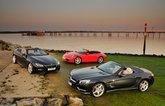 Used test – sublime soft-tops: BMW 6 Series vs Mercedes-Benz SL vs Porsche 911