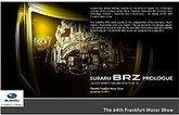 Subaru calls new sports car BRZ