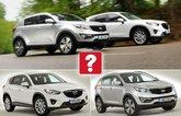 Used Kia Sportage vs Mazda CX-5