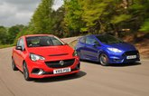 Used test: Ford Fiesta ST vs Vauxhall Corsa VXR