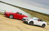 New Abarth 124 Spider vs Audi TT Roadster