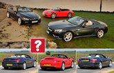 Used Mercedes SL vs BMW 6 Series Convertible vs Porsche 911 Cabriolet