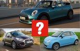 DS 3 Cabrio vs Fiat 500C vs Mini Convertible
