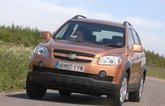 Chevrolet Captiva boot rust problem