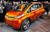 Chevrolet reveals updated Volt and Bolt EV concept