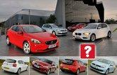 Used BMW 1 Series vs Lexus CT200h vs Volkswagen Golf vs Volvo V40