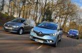New Renault Grand Scenic vs Citroen Grand C4 Picasso vs Volkswagen Touran