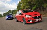 Vauxhall Corsa VXR vs Ford Fiesta ST
