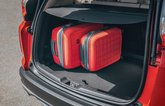 Honda CR-V boot with cases