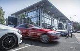 Dealership featuring Mercedes E-Class
