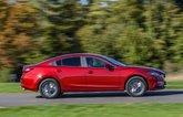 Mazda 6 driving