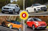 Volvo XC40, Renault Scenic, Audi A5 Cabriolet, Fiat 500L
