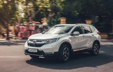 The Honda CR-V hybrid has an innovative fuel-efficient powertrain