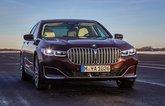 2019 BMW 745e front