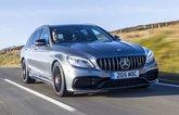 Mercedes-AMG C63 Estate front three-quarters driving