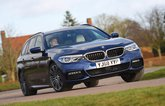 BMW 5 Series Touring front