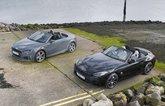 New Audi TT Roadster vs new BMW Z4