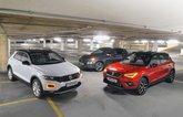 Volkswagen T-Roc, Seat Arona and Hyundai Kona