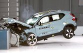 Volvo XC40 Euro NCAP crash test