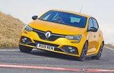 Renault Megane RS driving