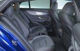 Mercedes AMG GT 4dr rear seats