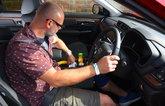 LT Honda CR-V Hybrid in-car storage