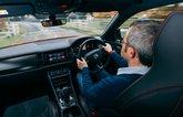 LT Skoda Kodiaq vRS driving